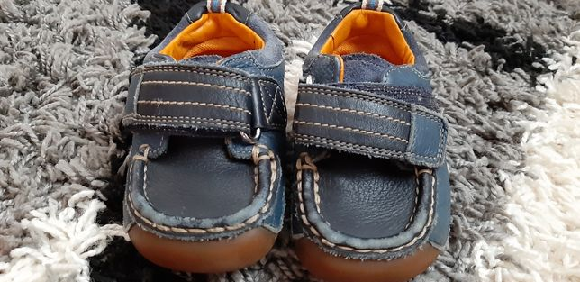 Кожаные мокасины Кеды туфли Clarks