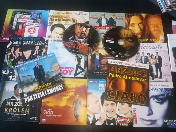 Zestaw filmów DVD 15 szt