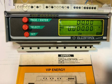 Elcontrol VIP ENERGY 3Phase Analyser