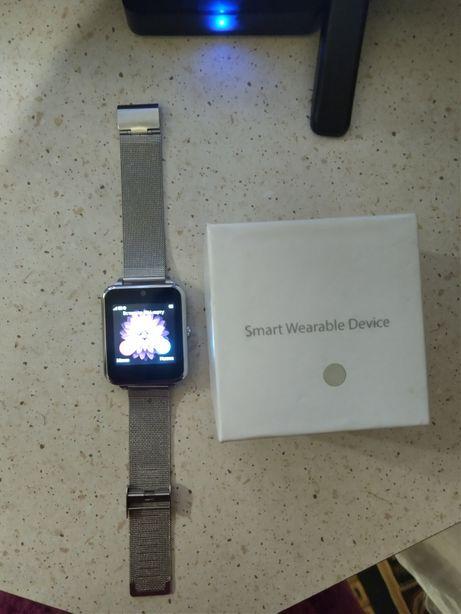 Смарт годинник Smart Watch Z60 Original Silver