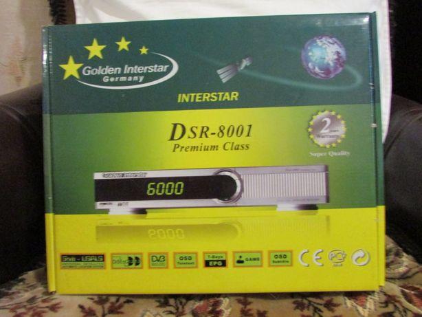 Спутниковый ресивер Golden Interstar DSR-8001 Premium Class