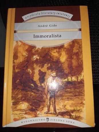 Książka Immoralista Andre Gide