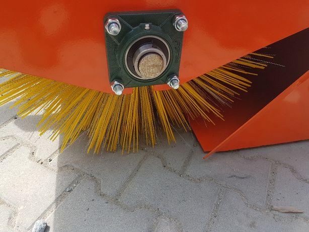 Zamiatarka 2,0m Metal Technik zaczep euro kosz hydraulicznie otwierany