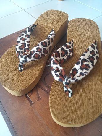 Chinelos sandálias tigresa