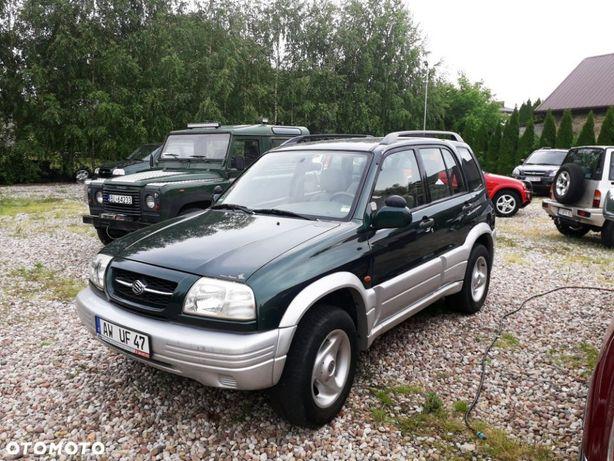 Suzuki Grand Vitara ŚLICZNA . 2,5 V6 BENZ. 4X4 Automat. Niski przebieg. Zielona