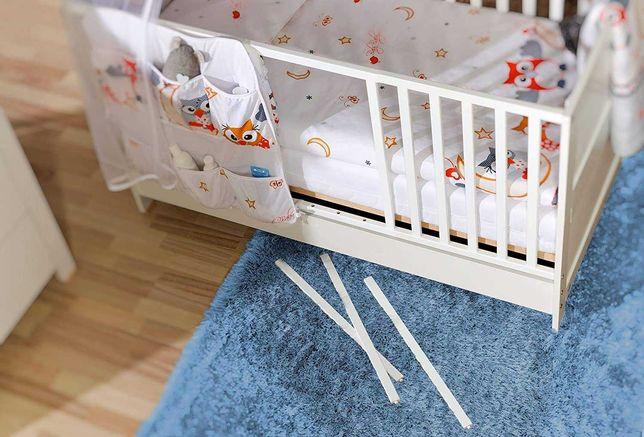 Łóżeczko dziecięce 140x70 BASIC   ATB Meble   Łóżko niemowlęce