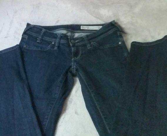 Jeansy Big Star prosta nogawka damskie spodnie granatowe 27/32