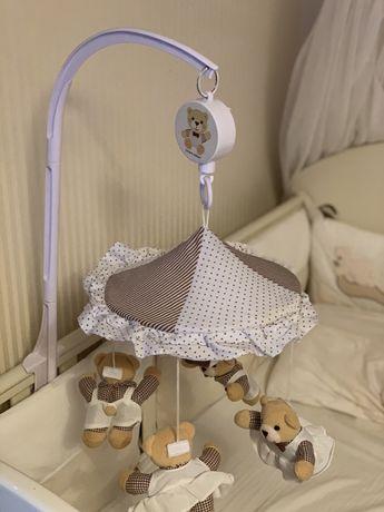 Мобіль музикальний на кроватку Canpol babies
