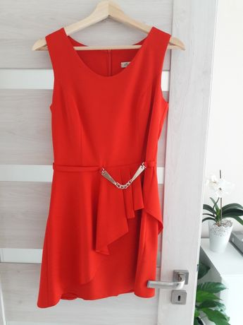 Sukienka r.38 czerwona