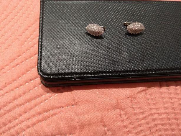 Kolczyki srebrne nowe!!!