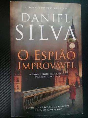 O Espião Improvável de Daniel Silva