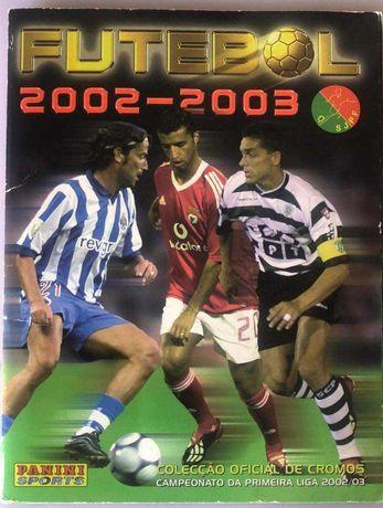 Caderneta Futebol 2002/2003