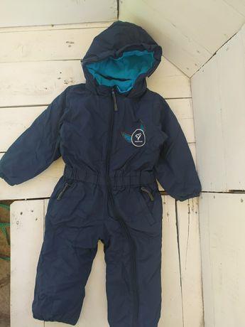 Зимний комбинезон термокомбинезон на мальчика 1-1,5 года Rucanor