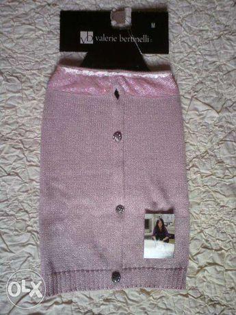 Różowy sweterek VALERIE BERTINELLI glamour dla psa rozm.M