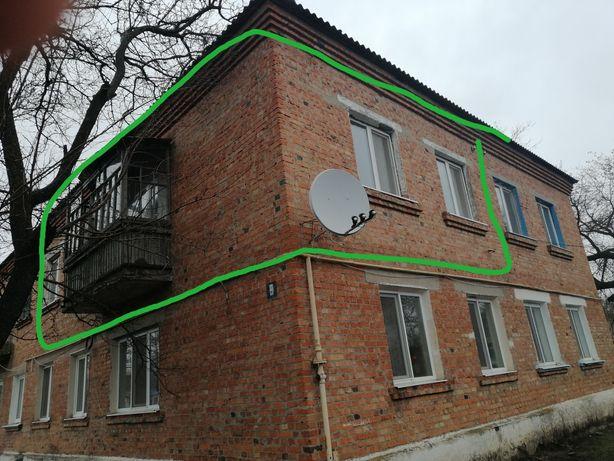 Продам 4-х комнатную квартиру 2 этаж Чугуевский район, с. Ивановка