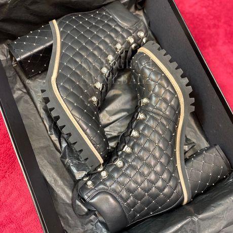 В наличии ботинки на каблуке Le Silla LeSilla натуральная кожа