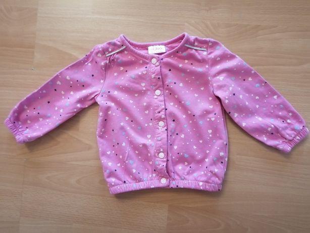 Bluza dla dziewczynki rozmiar 74
