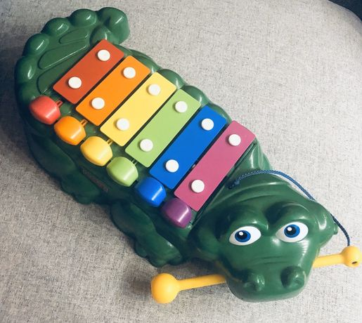 Cymbałki Krokodyl Fisher Price