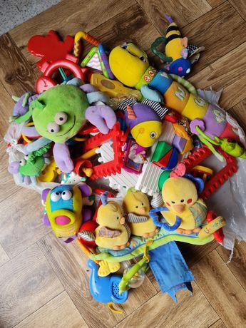 Mega paka zabawek dla niemowląt zabawki Fisher Price i inne