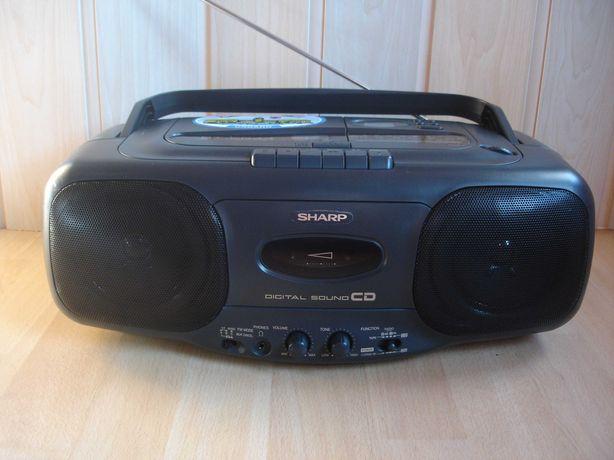 Radiomagnetofon SHARP QT-CD44H
