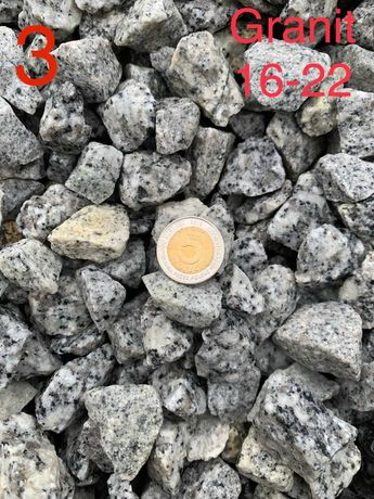 Grys granitowy 16-22, kamień ozdobny, kamienie