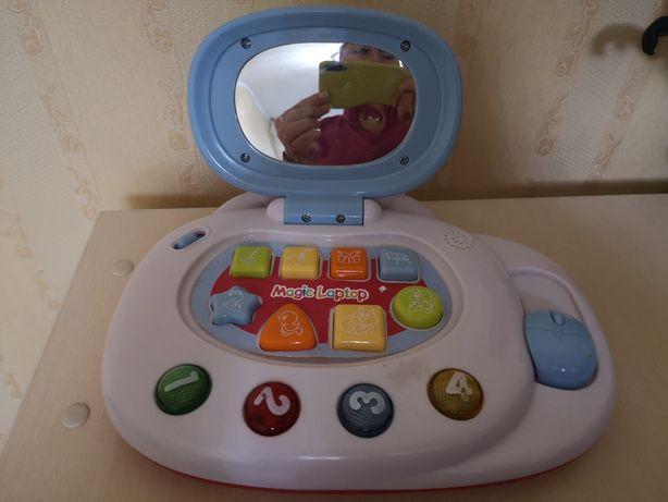 Музыкальная игрушка-ноутбук