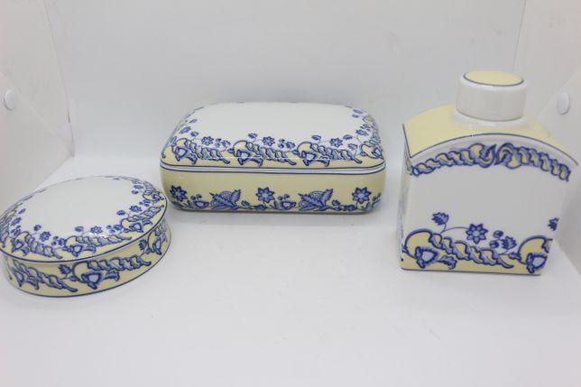 Conjunto de 3 peças em Porcelana SPAL Personalizada