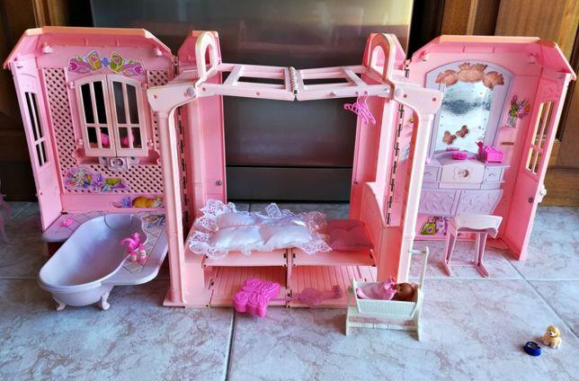 Casa Rosa da Barbie