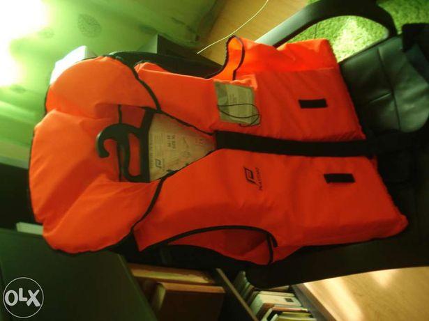 Colete proteção e salvamento mar ou rio - novo