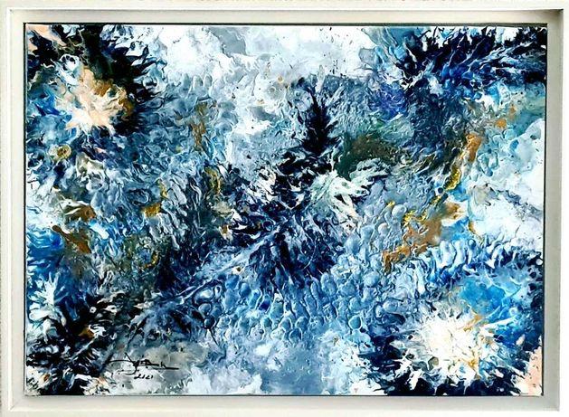 Jose Barbosa - Acrilico s/tela - Abstrato 21/21