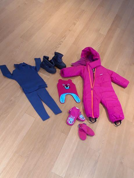 Vendo: Conjunto de neve para criança com 2 anos