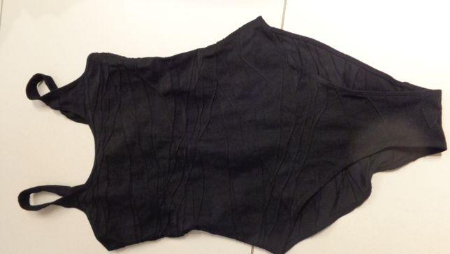 czarny strój kostium kapielowy