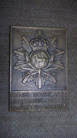 Dwa zabytkowe,unikatowe medale z brązu