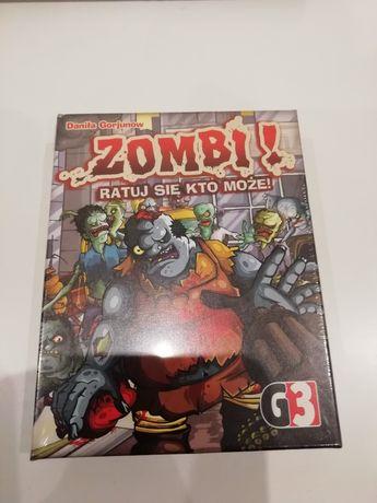 Gra karciana zombi ratuj się kto może zafoliowana