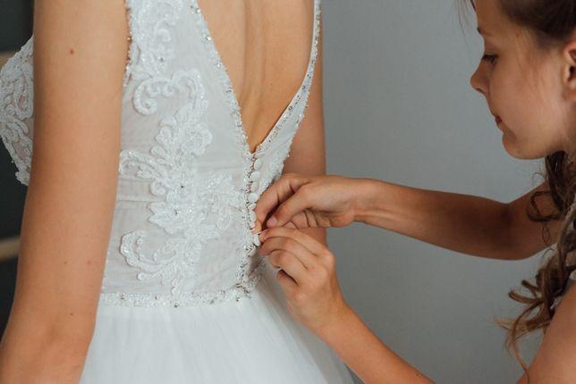Suknia ślubna pinnceska A
