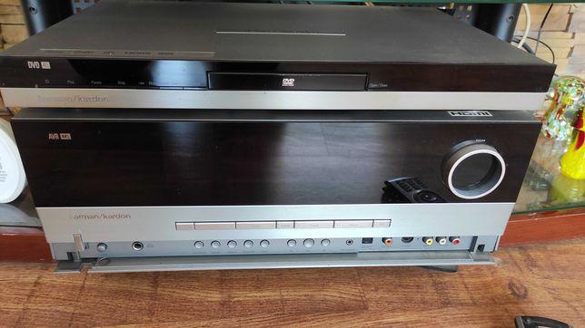Zestaw kina domowego Harman Kardon AVR 445 oraz odtwarzacz DVD 48