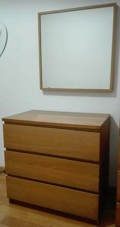 Cómoda IKEA 3 Gavetas + Oferta Espelho