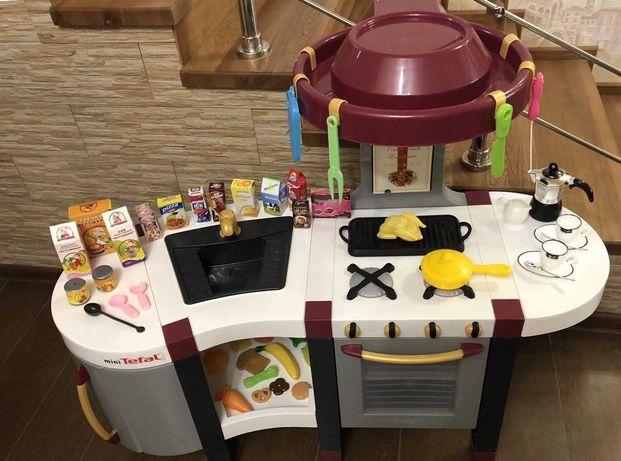 Большая кухня Smoby Tefal + Аксессуары