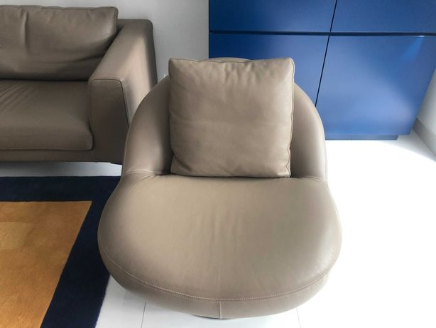 Poltrona pele genuina modelo LIPS de Casa Nova (2 a vender)