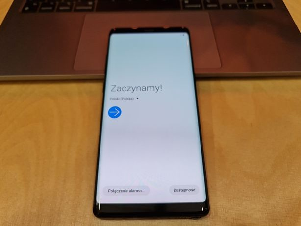Samsung Galaxy Note 8 Black 64GB (SM-N950F) - stan idealny + etui