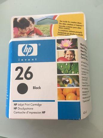 Tinteiro HP Preto Original 26