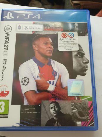 FIFA 21 Ps4/Ps5 Edycja Mistrzowska