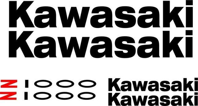 Naklejki KAWASAKI Z 1000 Z1000 na Motocykl Motor - Folia Długoletnia !