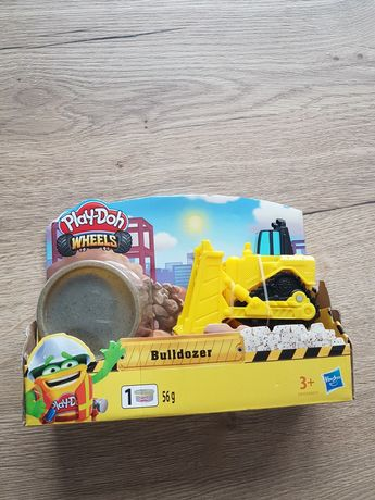 Play doh buldożer koparka pojazd nowe