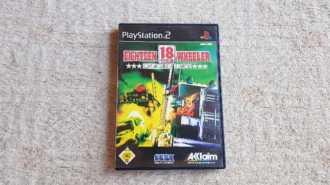 Gra Playstation (PS2) 18 wheeler American Pro Trucker - ogromne TIRY