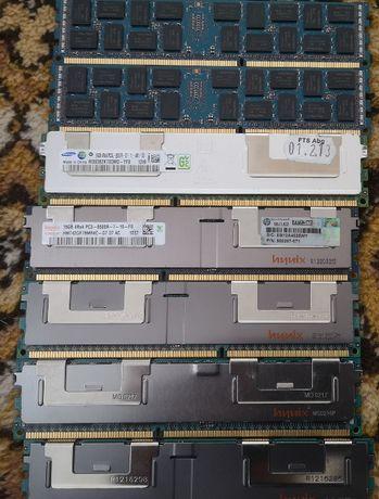 память DDR3 16Gb Reg Серверная_подходит для 1366 и 2011 материнок