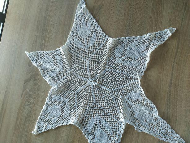 Serwetka gwiazda ręcznie robiona