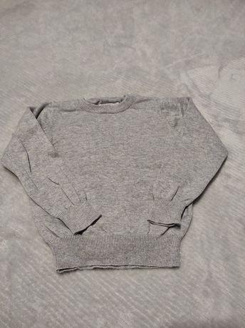 Szary sweterek dla chłopca Sinsay, r. 92