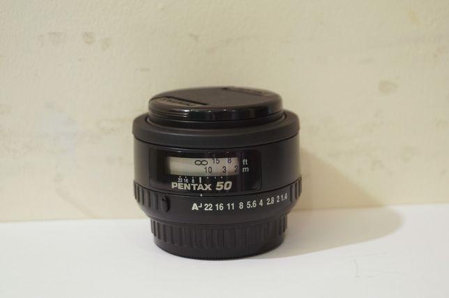 Pentax-FA 50/1.4 ! Топовый портретник ! Отличный экземпляр !