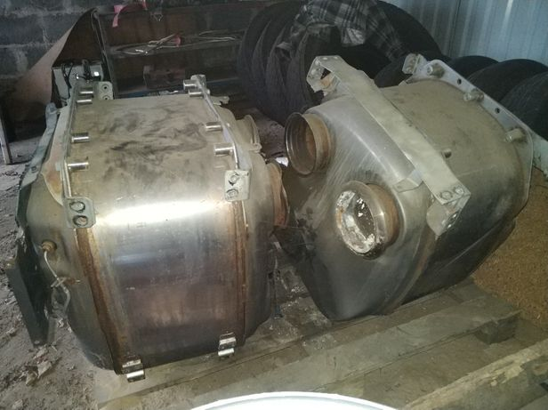 Katalizator Tłumik DAF 106 euro6 uszkodzony